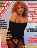 Leonor Benedetto on the cover of Interviu (Argentina) - December 1987
