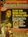Elvis Presley on the cover of Modern Screen (United States) - January 1979