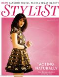 Gemma Arterton on the cover of Stylist Magazine (United Kingdom) - May 2010