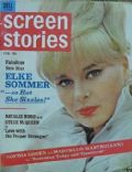 Elke Sommer on the cover of Screen Stories (United States) - February 1964