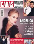 Angélica, Jean-Claude Van Damme, Pelé, Xuxa Meneghel on the cover of Caras (Brazil) - October 1995