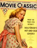 Charlotte Henry on the cover of Movie Classic (United States) - January 1934