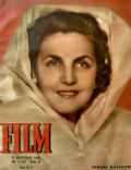 Tamara Makarova on the cover of Film (Poland) - September 1948