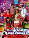 Andres Gil, Brenda Asnicar, Camila Outon, Nicole Luis, Santiago Talledo on the cover of Patito Feo (Argentina) - December 2008