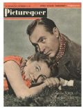 Joan Fontaine on the cover of Picturegoer (United Kingdom) - September 1943