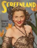 Joan Fontaine on the cover of Screenland (United States) - May 1945