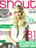 Pixie Lott on the cover of Shout (United Kingdom) - August 2011