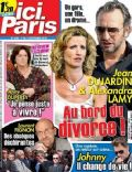 Alexandra Lamy, Jean Dujardin on the cover of Ici Paris (France) - July 2009