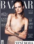 Hanne Gaby Odiele on the cover of Harpers Bazaar (Turkey) - August 2013