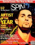 Perry Farrell on the cover of Spin (United States) - December 1991
