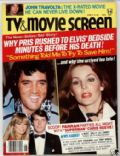 Elvis Presley on the cover of TV and Movie Screen (United States) - June 1979