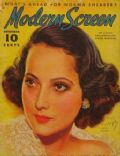 Merle Oberon on the cover of Modern Screen (United States) - December 1936