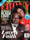 Serita Jakes, T.D. Jakes on the cover of Ebony (United States) - February 2013