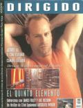 Bruce Willis on the cover of Dirigido (Spain) - May 1997
