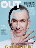 Jean-Paul Gaultier on the cover of Out (United States) - April 2012