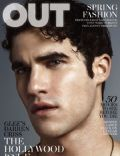 Darren Criss on the cover of Out (United States) - March 2011
