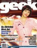 Christina Ricci on the cover of Geek (United States) - May 2008