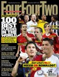 Wayne Rooney on the cover of Four Four Two (United Kingdom) - November 2009