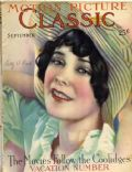 Don Reed, Sally O'Neil on the cover of Motion Picture Classic (United States) - September 1927