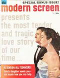 Elizabeth Taylor on the cover of Modern Screen (United States) - July 1958