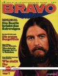 George Harrison on the cover of Bravo (Germany) - May 1971