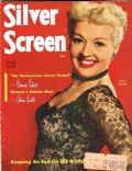 Betty Grable on the cover of Silver Screen (United States) - July 1952