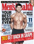 on the cover of Mens Health (Australia) - January 2013