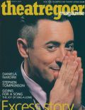 Alan Cumming on the cover of Theatregoer Magazine (United Kingdom) - March 2003