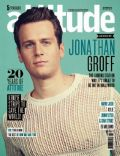Jonathan Groff on the cover of Attitude (United Kingdom) - May 2014