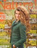 Vittoria Puccini on the cover of Natural Style (Italy) - December 2004