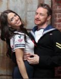 James McAvoy and Lisa Liberati