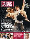 Emilia Attías, Nicolas Vazquez on the cover of Caras (Argentina) - July 2007