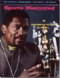Bill Russell on the cover of Sports Illustrated (United States) - December 1968