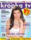Agnieszka Sienkiewicz on the cover of Kropka TV (Poland) - December 2011