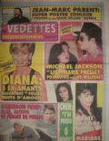 Lisa Marie Presley, Michael Jackson on the cover of Les Vedettes Internationales (Canada) - July 1996