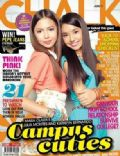 Julia Montes, Kathryn Bernardo on the cover of Chalk (Philippines) - June 2011