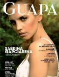 Sabrina Garciarena on the cover of Guapa (Uruguay) - December 2012
