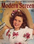 Shirley Temple on the cover of Modern Screen (United States) - April 1945