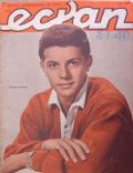 Frankie Avalon on the cover of Ecran (Chile) - June 1961