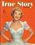 Jane Powell on the cover of True Story (United Kingdom) - July 1952