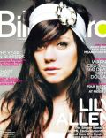 Lily Allen on the cover of Billboard (United States) - January 2009