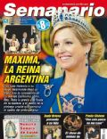 Princess Máxima of the Netherlands on the cover of Semanario (Argentina) - May 2013