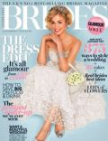 on the cover of Brides (United Kingdom) - August 2013