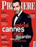Jean Dujardin on the cover of Premiere (France) - May 2011