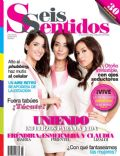 Claudia Lizaldi, Eréndira Ibarra, Esmeralda Pimentel on the cover of Seis Sentidos (Mexico) - October 2013