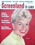 Doris Day on the cover of Screenland (United States) - November 1957