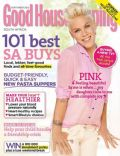 Pink on the cover of Good Housekeeping (South Africa) - September 2013