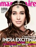 Karisma Kapoor on the cover of Marie Claire (India) - June 2012
