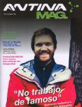 Juan Navarro on the cover of Antina (Argentina) - October 2006