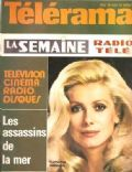 Catherine Deneuve on the cover of Telerama (France) - August 1974